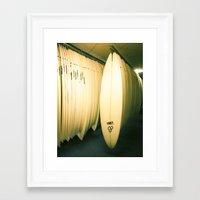 Surf Co Framed Art Print