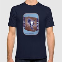 Beautiful Homes - The Spiny Murex Mens Fitted Tee Navy SMALL