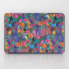 Popping Color Painted Fl… iPad Case