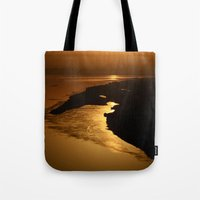 Golden Hour At The Praya… Tote Bag