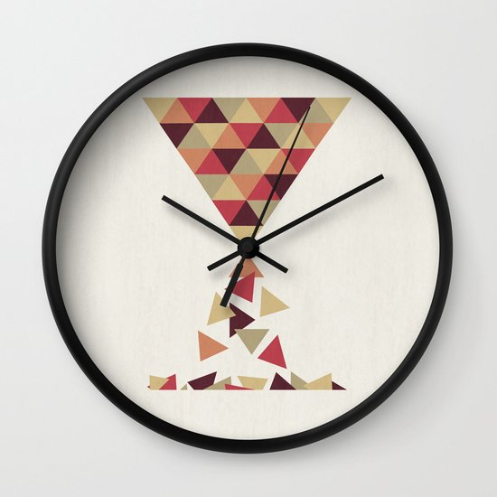 Hourglass Wall Clock