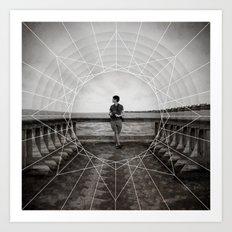 pier | side A Art Print