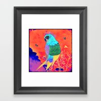Arara Framed Art Print