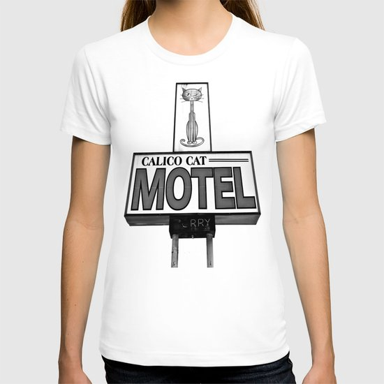 Cool cat motel T-shirt