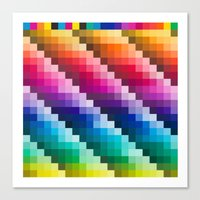 Color Palette Canvas Print