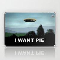 I Want Pie Laptop & iPad Skin
