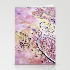 Soft Paisley Stationery Cards