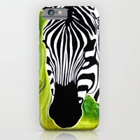 Green Black And White Ze… iPhone 6 Slim Case