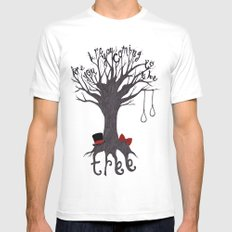 The Hanging Tree White SMALL Mens Fitted Tee