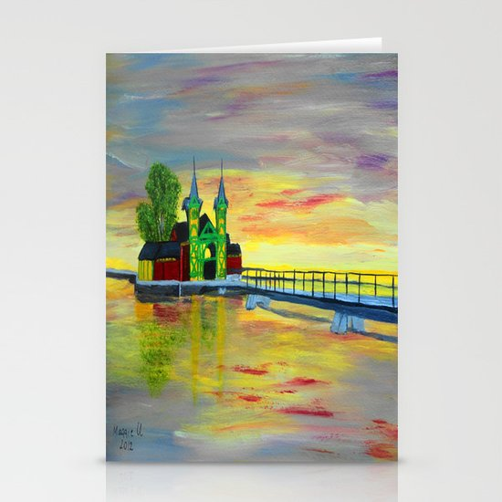 Pier  Stationery Card