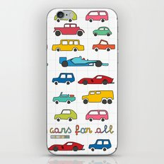 Cars For All iPhone & iPod Skin