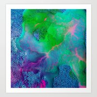In Vein Art Print
