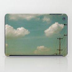 Electric Blue iPad Case