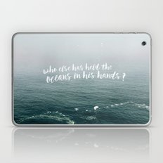HELD THE OCEANS? Laptop & iPad Skin