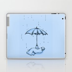 Rain Rain Go Away! Laptop & iPad Skin