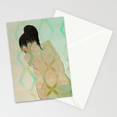 fear of reflection Stationery Cards