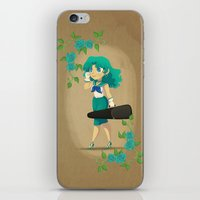 Retro Sailor Neptune iPhone & iPod Skin