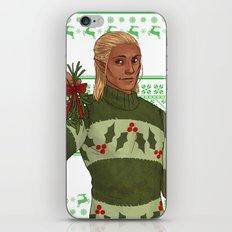 Very Merry Zevran iPhone & iPod Skin