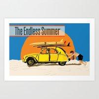 An Endless Summer bummer Art Print