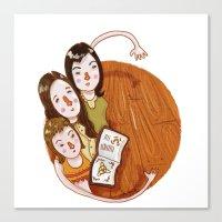 Charmed (alphabet series TV) Canvas Print