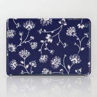Indigo Floral Trail iPad Case