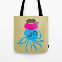 Hipster Octopus 2016 Tote Bag