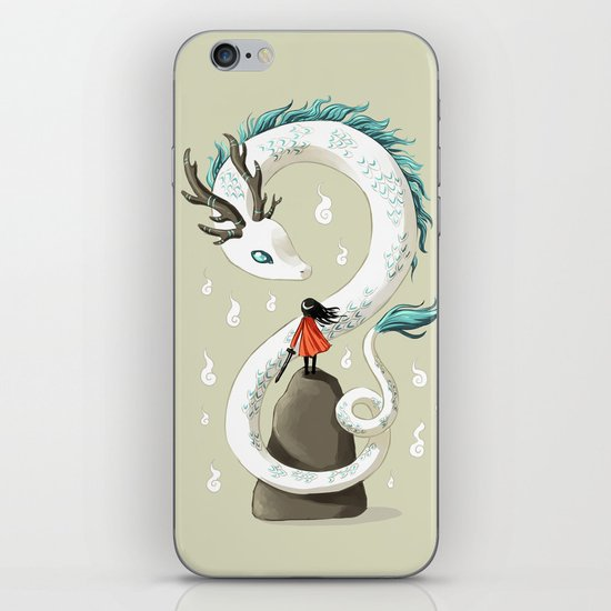 Dragon Spirit iPhone & iPod Skin