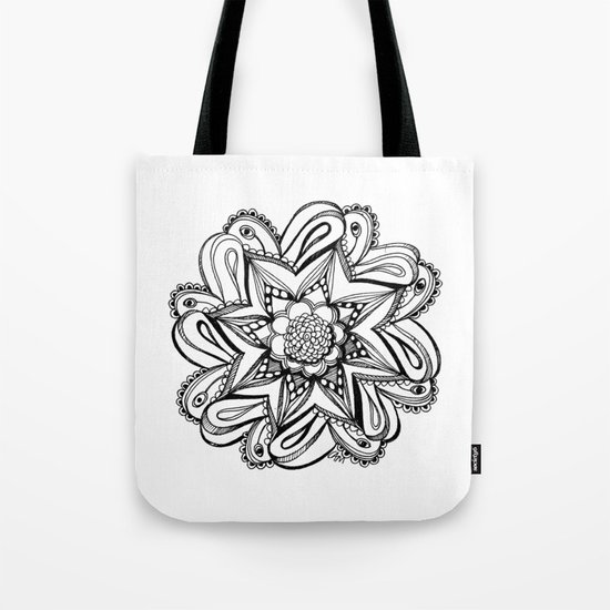 Zendala ornate Tote Bag
