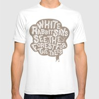 See The Forrest For The … Mens Fitted Tee White SMALL