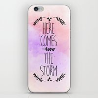 Here comes the Storm iPhone & iPod Skin