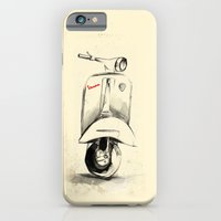 iPhone & iPod Case featuring Vespa by Juan Alonzo