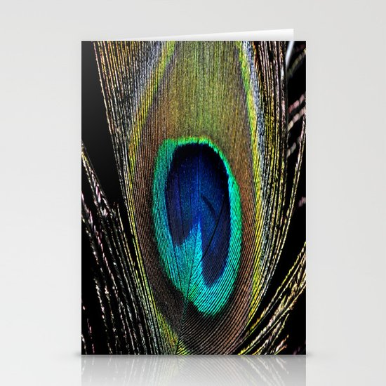 Peacock clothes Stationery Card