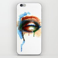 Watercolor Eye iPhone & iPod Skin