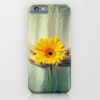 The Girl With The Daisy  iPhone 6 Slim Case