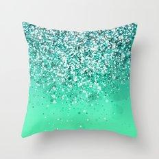 Silver II Throw Pillow