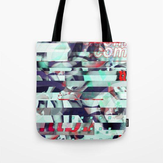 Glitch Decon 3 Tote Bag