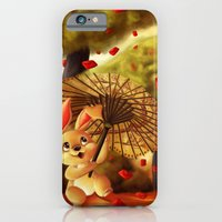 iPhone & iPod Case featuring Year of the Bunny by parochena
