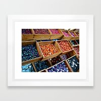 Beadazzled Framed Art Print