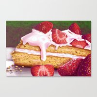 Piece Of Cake Canvas Print