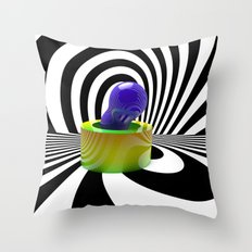 Random Shapes Throw Pillow