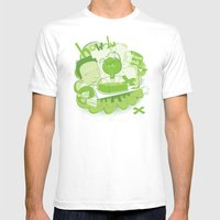How I Remember It Mens Fitted Tee White SMALL