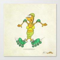 Pirouette Canvas Print