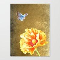 Illuminated garden Canvas Print