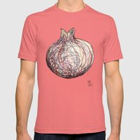 Pomegranate Mens Fitted Tee Pomegranate SMALL