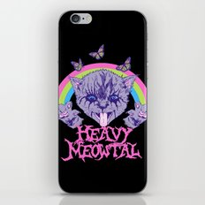 Heavy Meowtal iPhone & iPod Skin