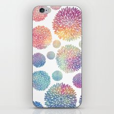 Watercolor Flowers iPhone & iPod Skin