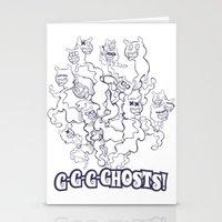 GGGHOSTS! Stationery Cards