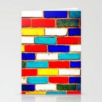 Vibrant Brick Stationery Cards