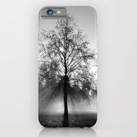 iPhone & iPod Case featuring tree by Luca Finardi