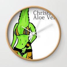 Christina Aloe Vera Wall Clock